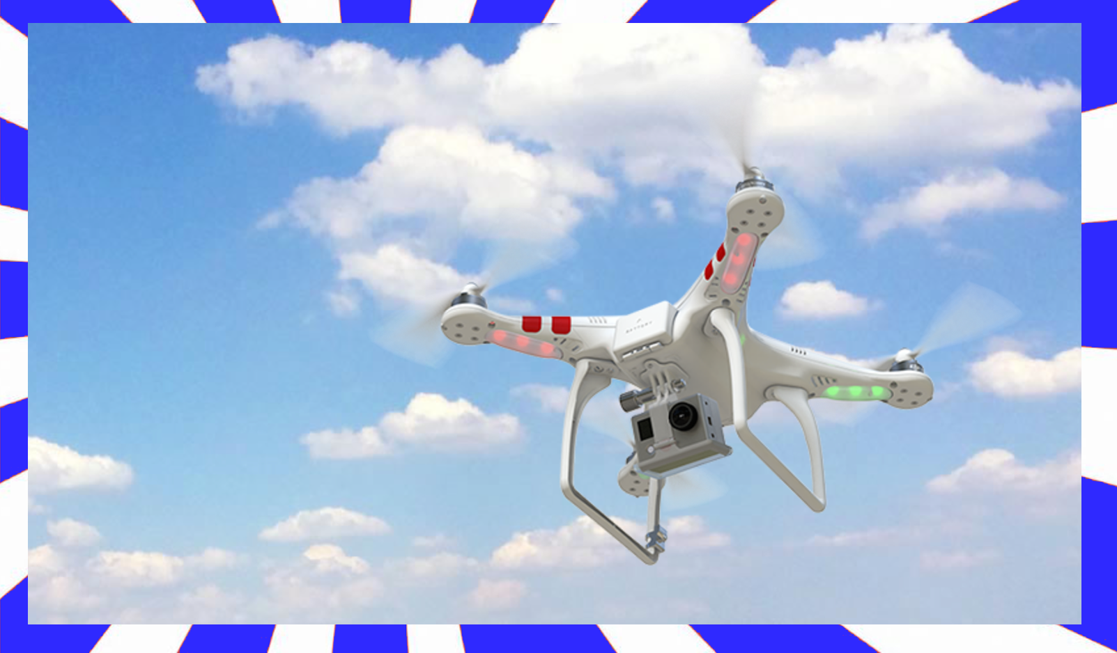 dji phantom 2 with Zenmuse H3-3D Gimbal