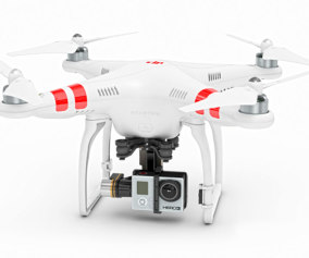 DJI Phantom 2 with Zenmuse H3 3D