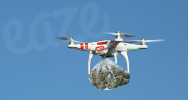 DJI Phantom 2 Weed Delivery