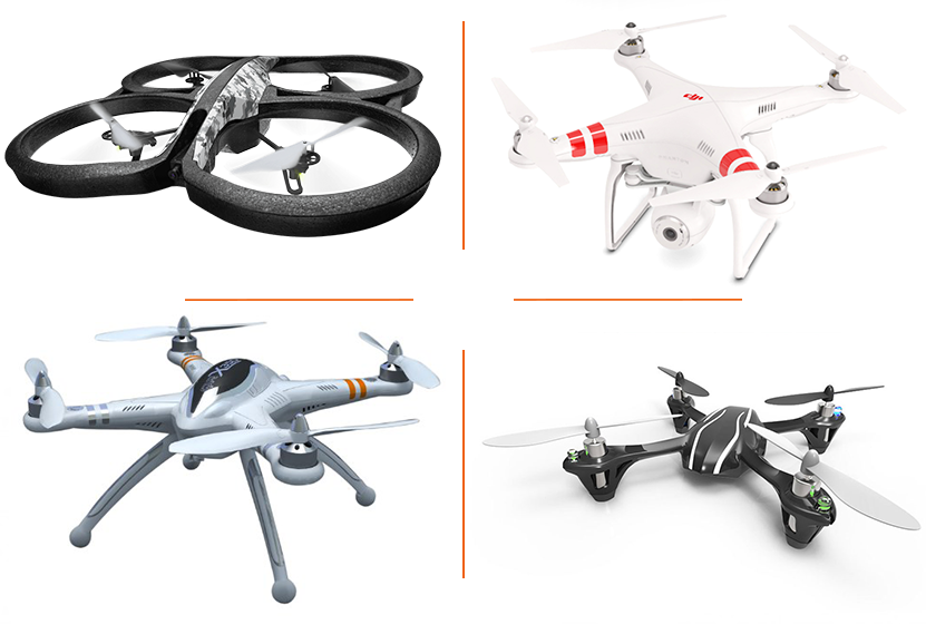 4 best quadcopters