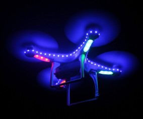 DJI Phantom 2 with LED Lights